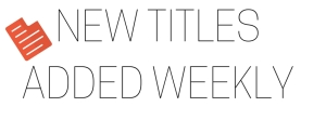 NEW TITLES WEEKLY