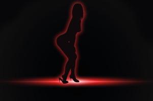 stripper silhouette 2