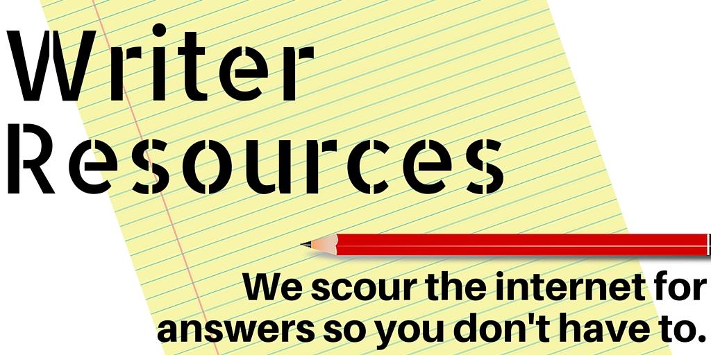 Writer Resources
